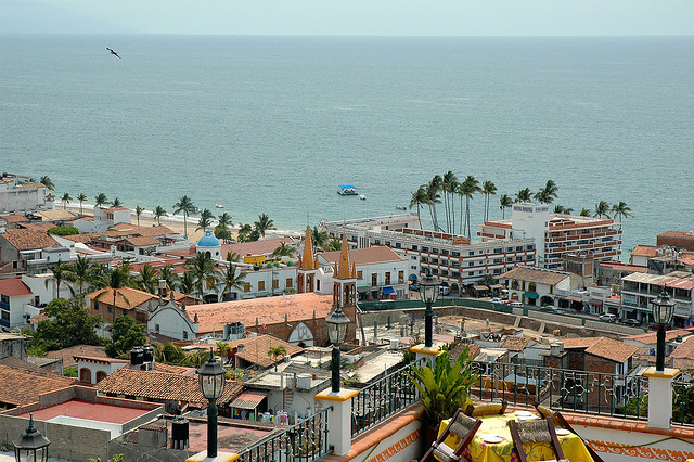 Puerto Vallarta View from above